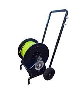 300-FT PipePatch Hose Reel with Cart (1/2-IN assy. For pillow packer)