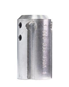"""HUB Aluminum 3"""" short for (1/3)"""" shaft"""