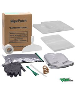 """TygerPatch 12"""" Tee Kit Lateral Repair System"""
