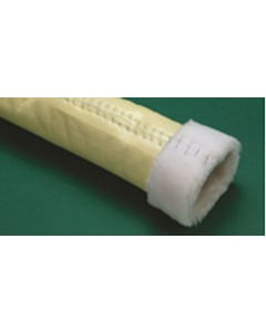 """Quad-Cure Lateral Liner Reinforced with Scrim Sewn-In Transition 70' of 3"""" - 30' of 4"""""""